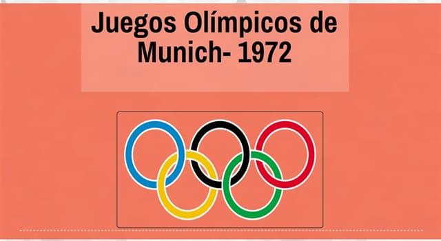 Deporte Pregunta Trivia: ¿Cuál fue el suceso más destacado de los Juegos Olímpicos de Múnich 1972?