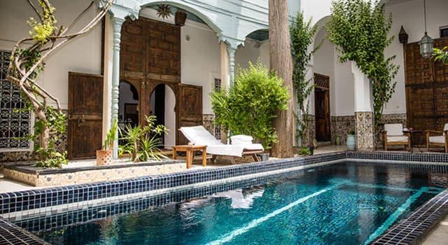 Cultura Pregunta Trivia: ¿Qué son los riads en Marruecos?