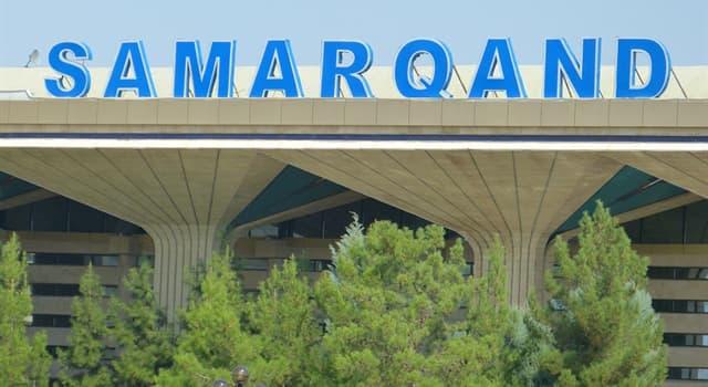 Geografía Trivia: ¿Samarcanda es una ciudad o un país?