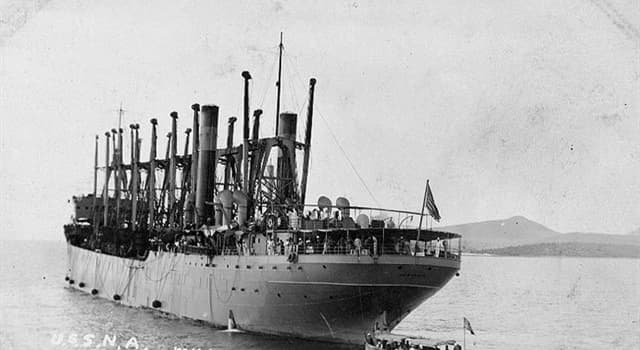 History Trivia Question: USS Jupiter served the United States Navy from 1913 until 1920 when she was converted to another type ship and given a new name. What was it?
