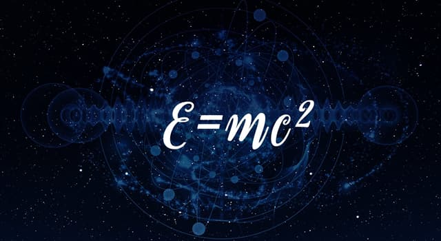 Science Trivia Question: What does the 'c' equate to in Albert Einstein's equation E = mc²?