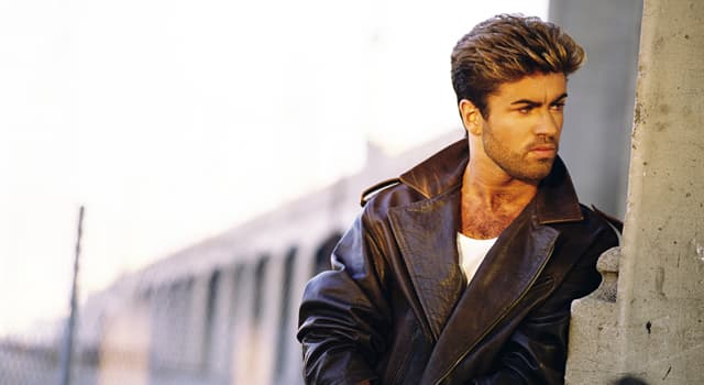 Movies & TV Trivia Question: What instrument did George Michael play in the video to his 1987 hit 'Faith'?