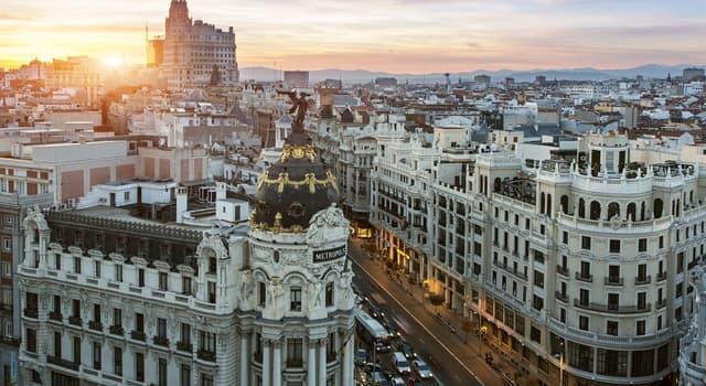 Geographie Wissensfrage: Was ist die Hauptstadt Spaniens?