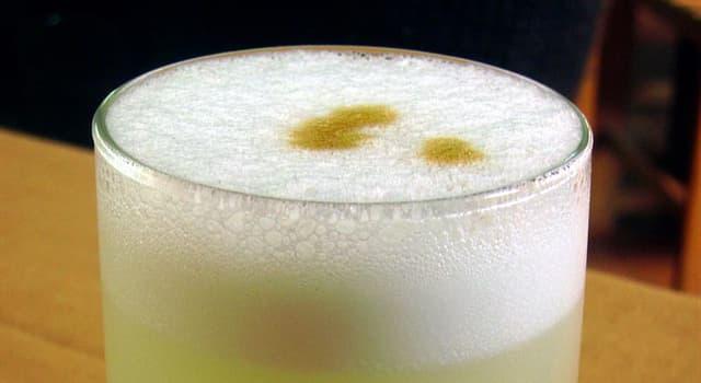 Kultur Wissensfrage: Was ist das Nationalgetränk von Peru?