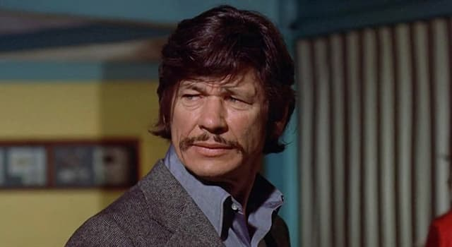 History Trivia Question: What job did Charles Bronson do prior to entering military service during World War II?