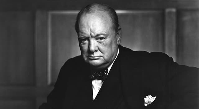 History Trivia Question: What were Sir Winston Churchill's last words?
