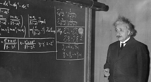 History Trivia Question: When did Albert Einstein formulate his special theory of relativity?