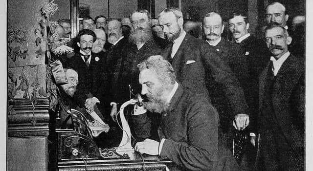 History Trivia Question: When did the U.S. Patent Office issue a patent for the telephone to Alexander Graham Bell?