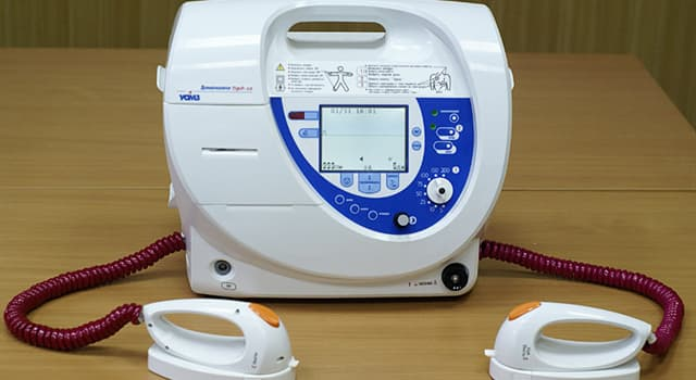History Trivia Question: When was a defibrillator first successfully used on a patient?