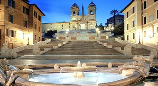 Culture Trivia Question: Where are the original Spanish Steps?