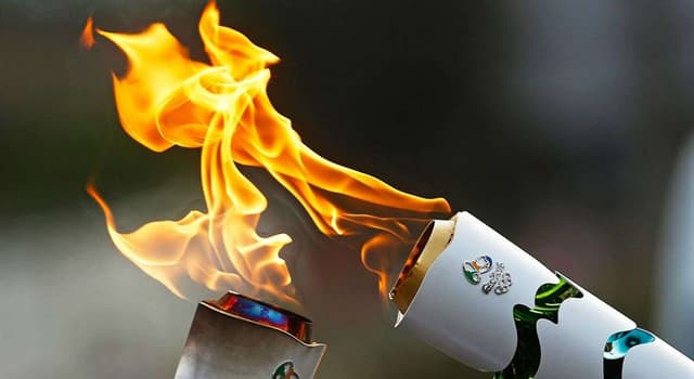 Culture Trivia Question: Where is the Olympic torch lit?
