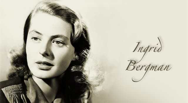 Movies & TV Trivia Question: Which award did Ingrid Bergman get for her performance in the mini-series 'A Woman Called Golda'?