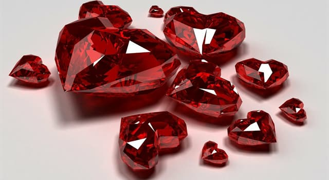 Science Trivia Question: Which chemical element gives rubies their red coloring?