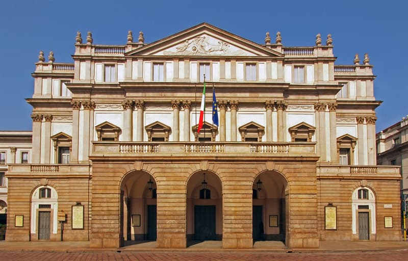 Geography Trivia Question: Which city has the famous opera house La Scala?