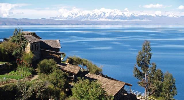Geographie Wissensfrage: Was ist der größte Süßwassersee Südamerikas?