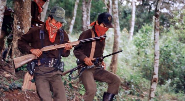 Geschichte Wissensfrage: Welche nationale Regierung unterzeichnete 1994 ein Friedenseinkommen mit den Rebellen von Chiapas?