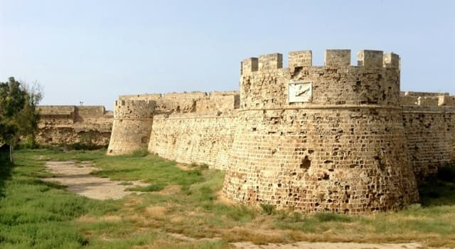 Geography Trivia Question: Which town in Cyprus is the Othello Castle located in?