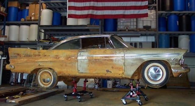 Society Trivia Question: Which U.S. city buried a 1957 Plymouth Belvedere as part of a time capsule for its state's centennial?