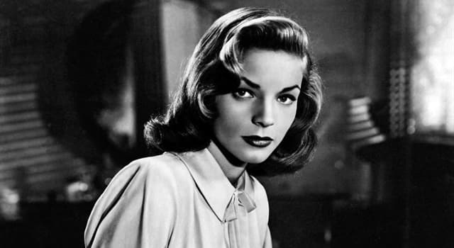 Movies & TV Trivia Question: Which was Lauren Bacall's first film?