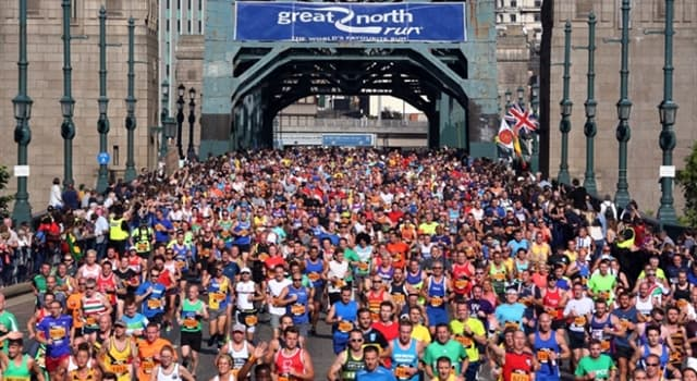 Society Trivia Question: Who founded the Great North Run, a half marathon which takes part in the north east of England every September?