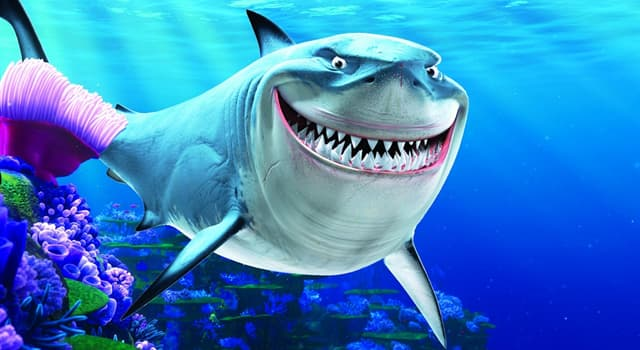 Movies & TV Trivia Question: Who is the alter ego of the comedian and actor of the voice of Bruce the shark in 'Finding Nemo'?