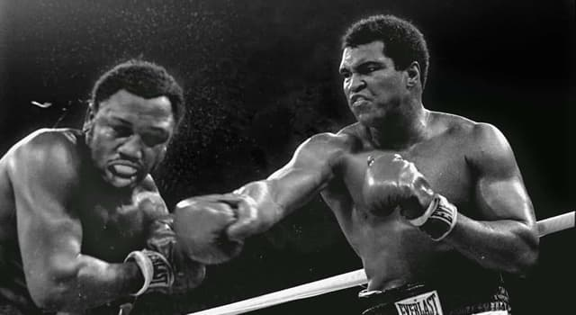 Sport Trivia Question: Who is the only professional boxer to have beaten Muhammad Ali other than by decision?