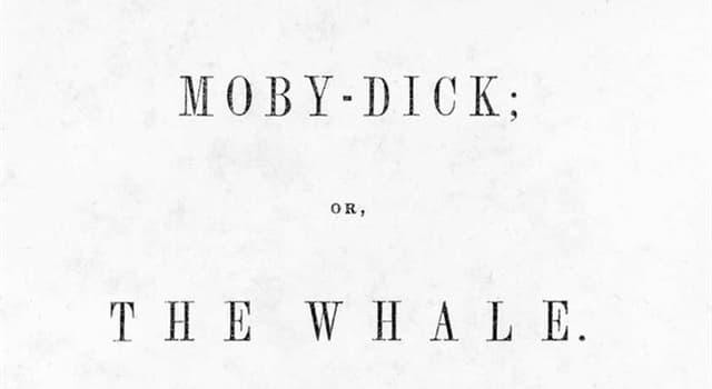 """Kultur Wissensfrage: Wer ist der Erzähler im Roman von Herman Melville """"Moby-Dick""""?"""
