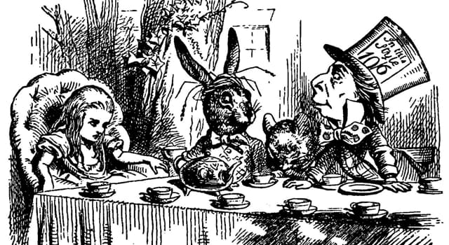 Culture Trivia Question: Who wrote the novel 'Alice in Wonderland'?