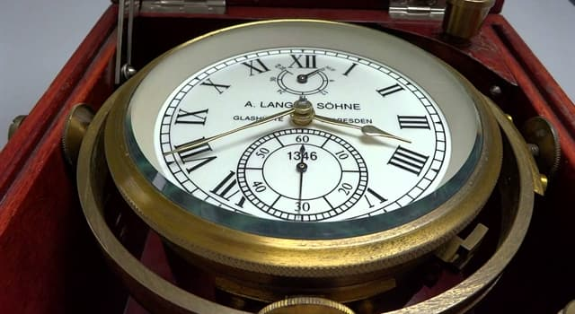 Science Trivia Question: Whose super-accurate clock helped solve the problem of calculating longitude while at sea?
