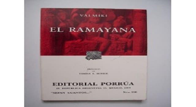 Cultura Pregunta Trivia: ¿A qué cultura pertenece el libro El Ramayana?