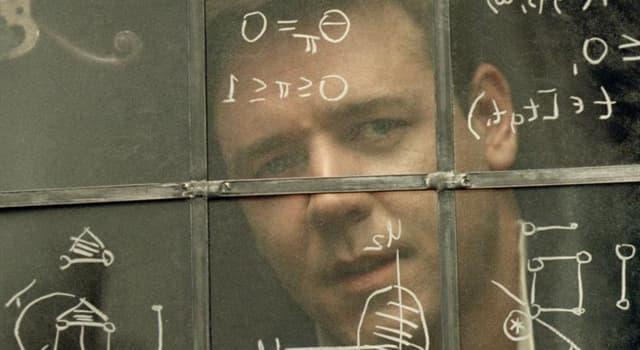 """Сiencia Pregunta Trivia: ¿A qué Premio Nobel de Economía caracterizó Russell Crowe en la película """"Una mente brillante""""?"""