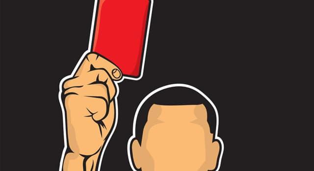 Deporte Pregunta Trivia: ¿A qué jugador de fútbol se le aplicó tarjeta roja por primera vez en un mundial?