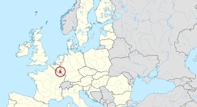Geografía Pregunta Trivia: ¿Cual es la capital de Luxemburgo?