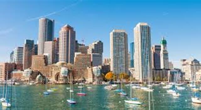 Geografía Pregunta Trivia: ¿Cuál de las siguientes ciudades de Estados Unidos se encuentra en New England (Nueva Inglaterra)?