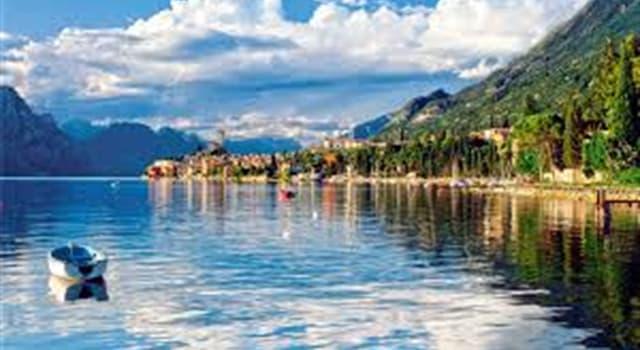 Geografía Pregunta Trivia: ¿Cuál es el lago más grande de Italia?