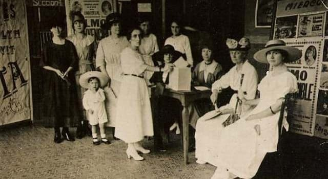 Historia Pregunta Trivia: ¿Cuál fué el primer país que aprobó el voto femenino?