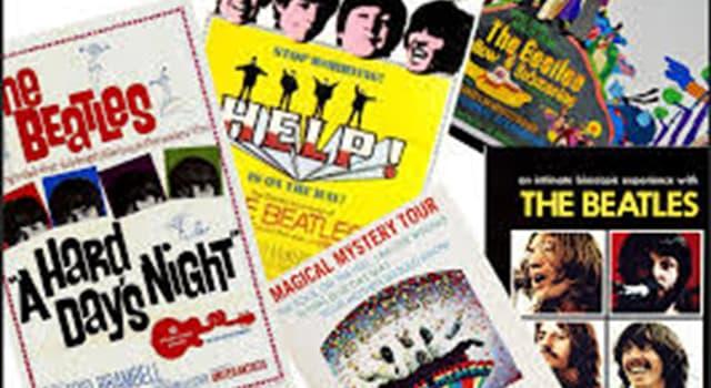 Películas y TV Pregunta Trivia: ¿Cuál fue la única película animada interpretada por «The Beatles»?