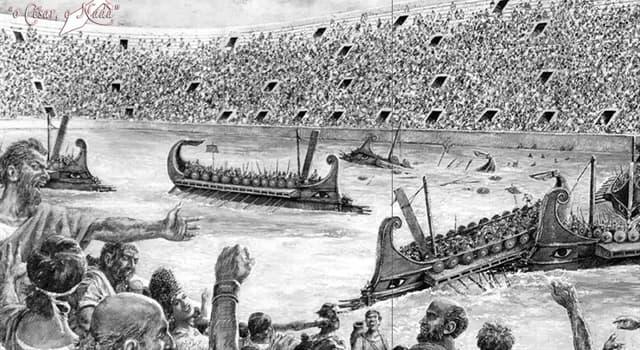 Historia Pregunta Trivia: ¿Cuántas batallas navales se llevaron a cabo en el Coliseo de Roma?
