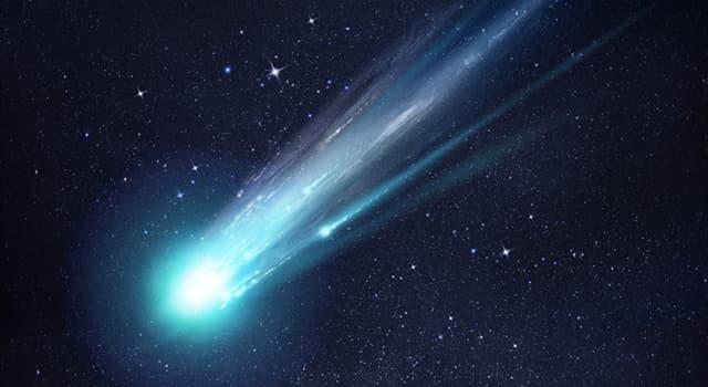 Сiencia Pregunta Trivia: ¿De qué material están formadas las colas de los cometas?