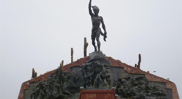 Historia Pregunta Trivia: ¿Dónde está ubicado este monumento?