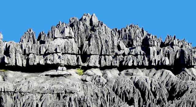 Naturaleza Trivia: ¿Dónde se encuentra el parque nacional de Tsingy?
