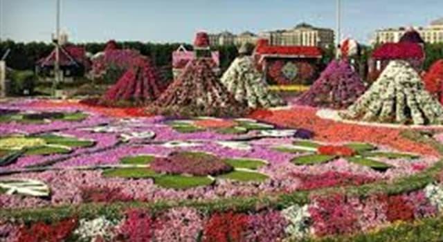 Geografía Pregunta Trivia: ¿En qué ciudad se encuentra el jardín que muestra la imagen?