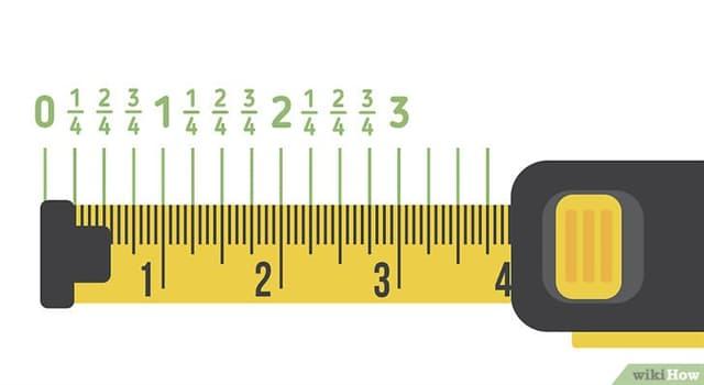 Cultura Pregunta Trivia: ¿En qué siglo se usó por primera vez la cinta métrica?