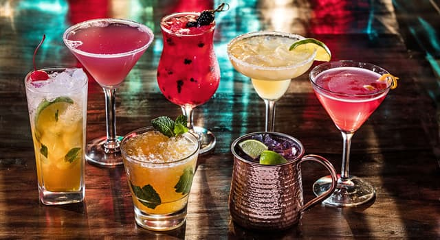 Culture Trivia Question: Often used in cocktails, what is gomme?
