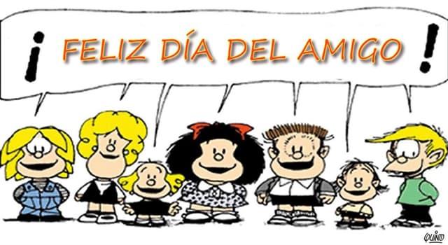 Cultura Pregunta Trivia: ¿Qué día y por qué se propone desde Argentina como Día del Amigo?