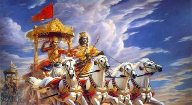 Cultura Pregunta Trivia: ¿Qué es el Mahābhārata?