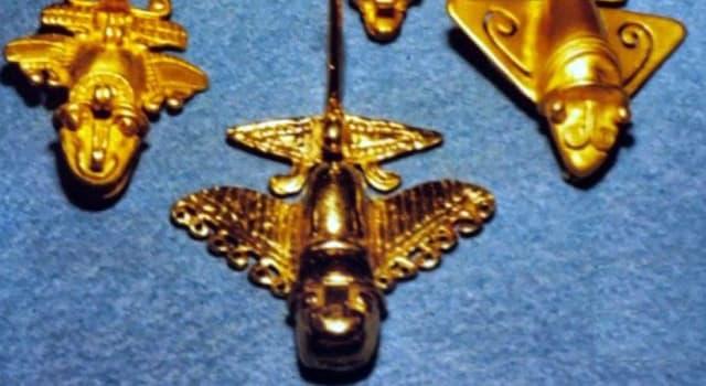 Historia Pregunta Trivia: ¿Qué parecen representar los artefactos quimbaya?