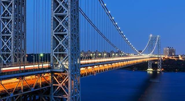 Geografía Pregunta Trivia: ¿Qué río separa la ciudad de Nueva York del estado de Nueva Jersey (New Jersey)?
