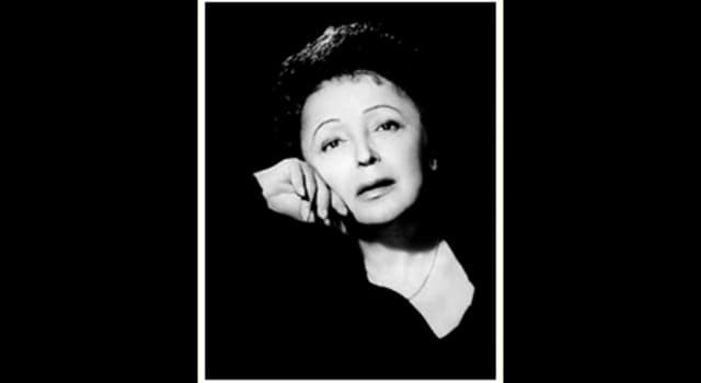 """Cultura Pregunta Trivia: ¿Quién es la autora de la letra de la canción """"La Vie en rose"""" (La vida en rosa)?"""