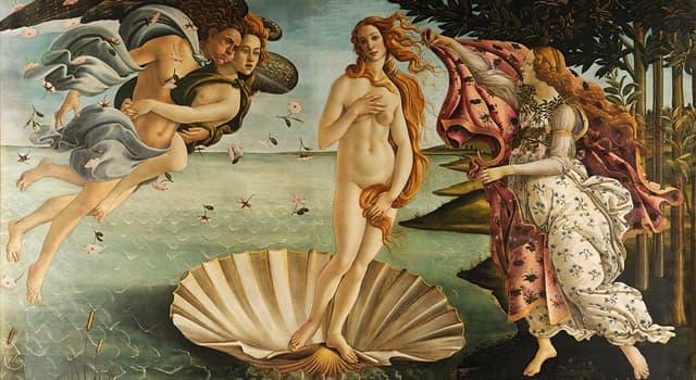 """Cultura Trivia: ¿Quién es el autor del cuadro """"El Nacimiento de Venus""""?"""